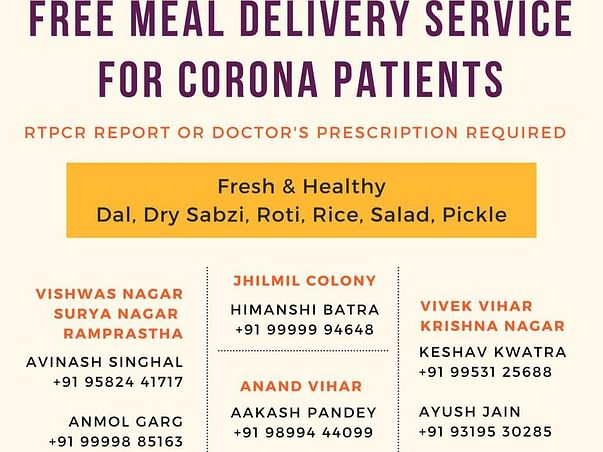 Free Meals Distribution
