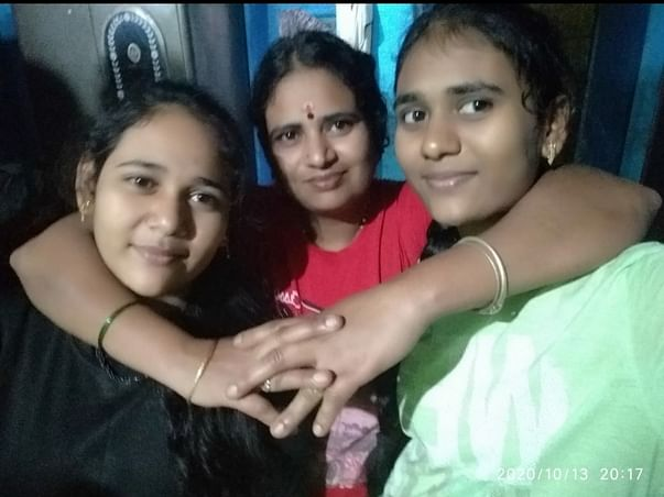 Support education of 2 young girls orphaned due to covid 19