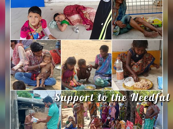 Raising a fund to support the families affected by Covid 19 in Odisha