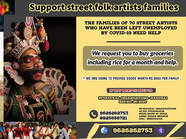 Support Street Folk Artists Families