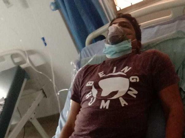 35 Years Old Sarigala Suman Raju Needs Your Help Fight Covid-19