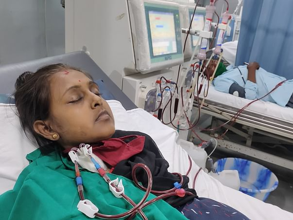Mamoni Ghosh Fighting with Kidney Failure to be alive for her 2 yr kid