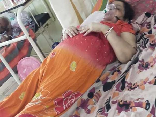 Help my mother to fight and survive massive COVID lungs infection