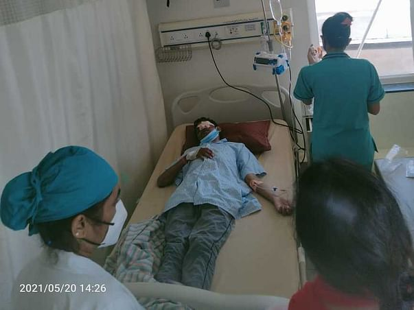 Help My Father Sunil Sharma To Recover From Mucormycosis(Black Fungus)