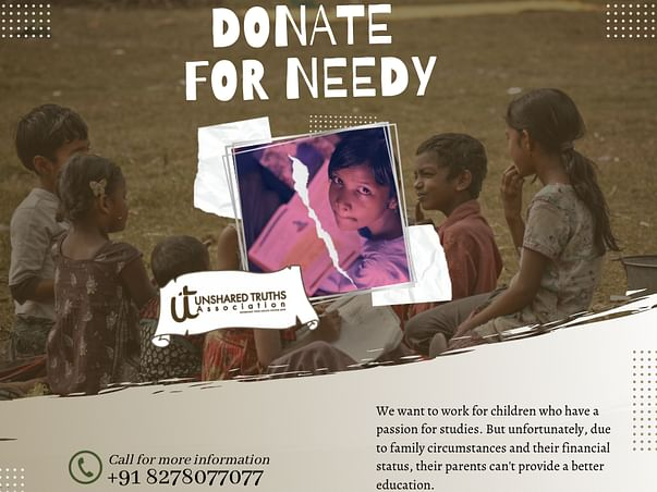 Help Financially Challenged Children For Their Education