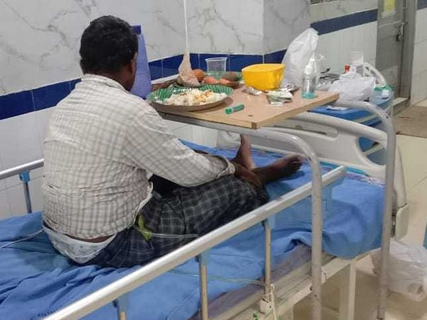 Help Santhosh Recover From Covid 19