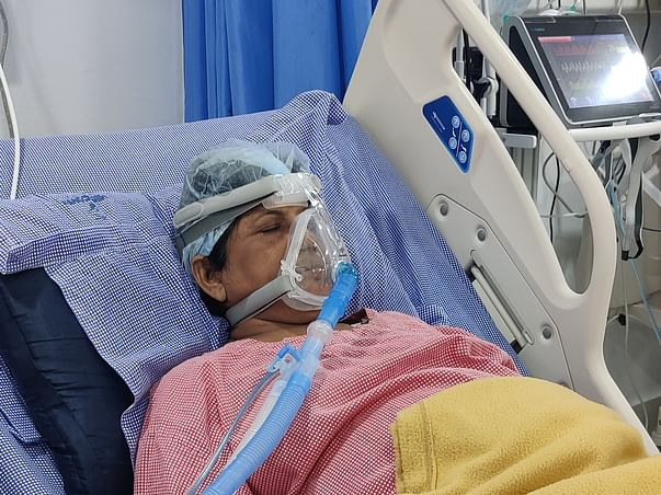 Help Palle Usha Rani Recover From Covid