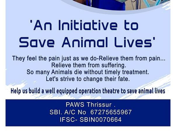 HELP PAWS THRISSUR BUILD A VETERINARY CLINIC AND OPERATION THEATRE