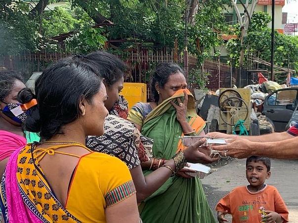 Feed underprivileged people