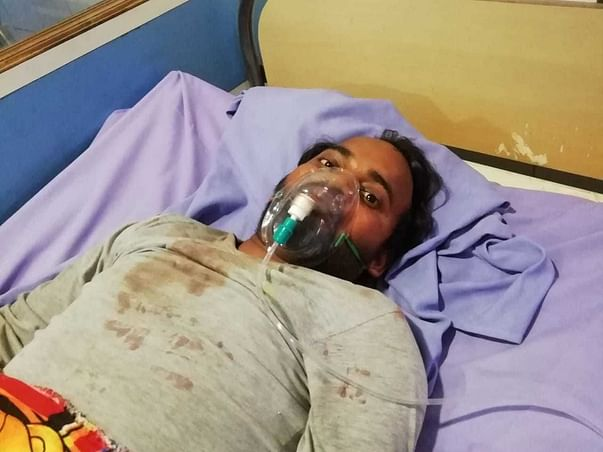 Support Chandrama Prasad Singh To Recover From Accidental Injuries