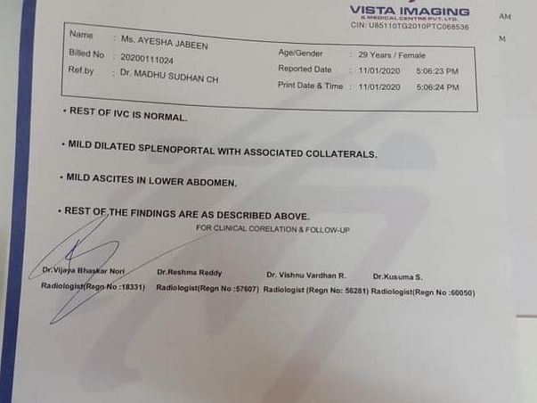 Support Ayesha To Undergo Liver Transplant
