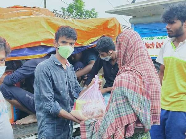 #IndiaAgainstCOVID-DONATE FOR COVID & CYCLONE YASH AFFECTED FAMILIES