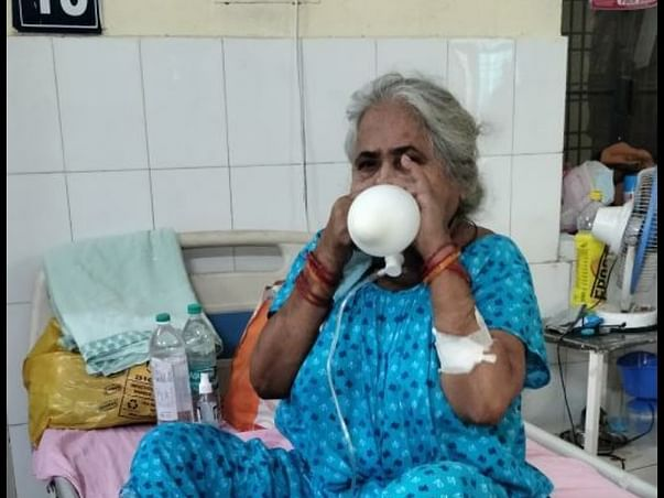 Support My Grandmother To Recover From Covid-19