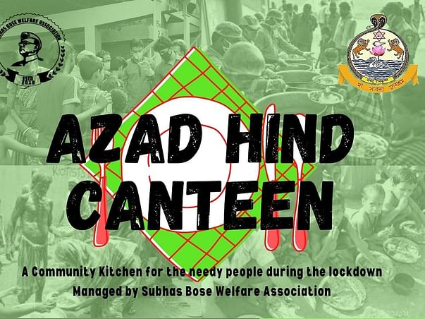 """Help """"Azad Hind Canteen"""", help people to put food on the table of poor"""