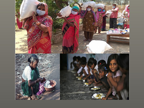 Support For Lockdown Food Distribution In Aligarh & Allahabad