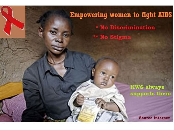 Help us to support people suffering through HIV AIDS in this pandemic