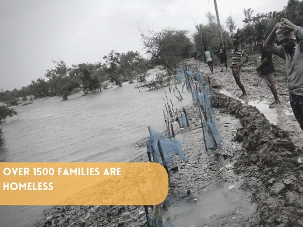 Support SGEA for Food Relief after Cyclone YAAS in Sundarbans