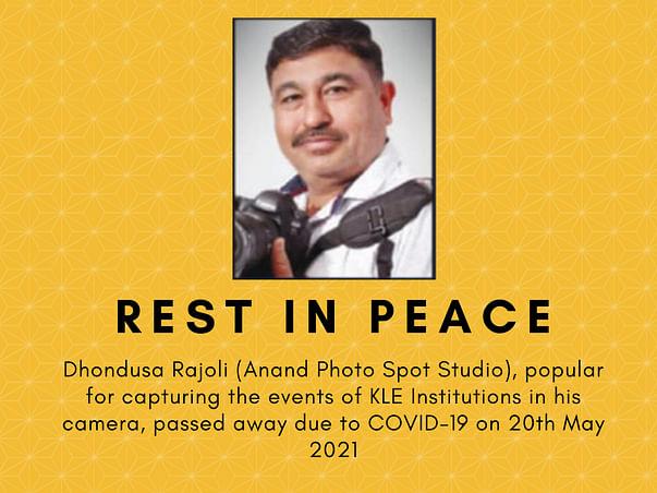 Helping Dhondusa Rajoli (Anand Photo Spot Studio) Family