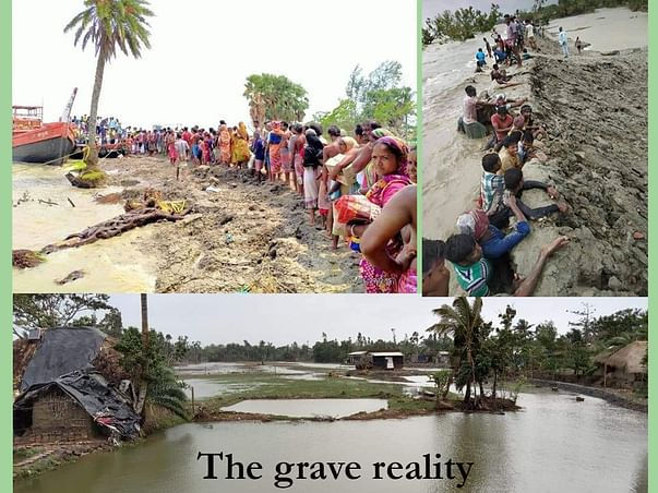 A Pledge to Stand by Cyclone Ravaged Indian Sundarbans: The Beginning…