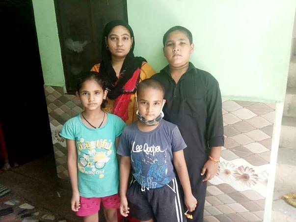 Sandeep bhaiya's wife (Lalita ji) with their children