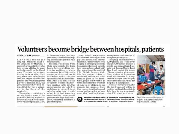 Help Underprivileged Patients Get Treated