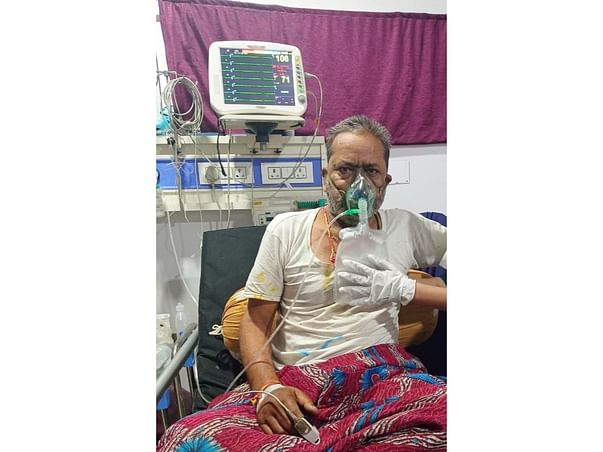 Please help My father to fight this Severe Covid Lung Infection