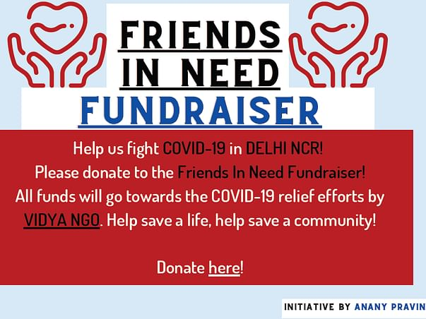 Help us raise funds for Covid-Relief!