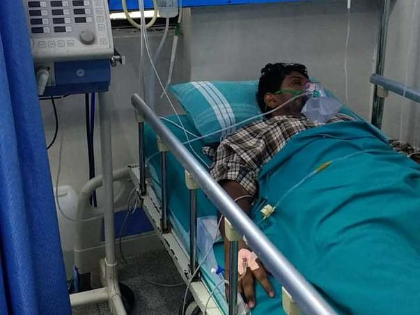 Save Suresh's Life Who Is Suffering From Sever Covid And Gb Syndrome!