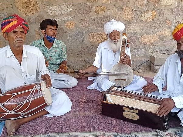 Help Mangniyar folk artist