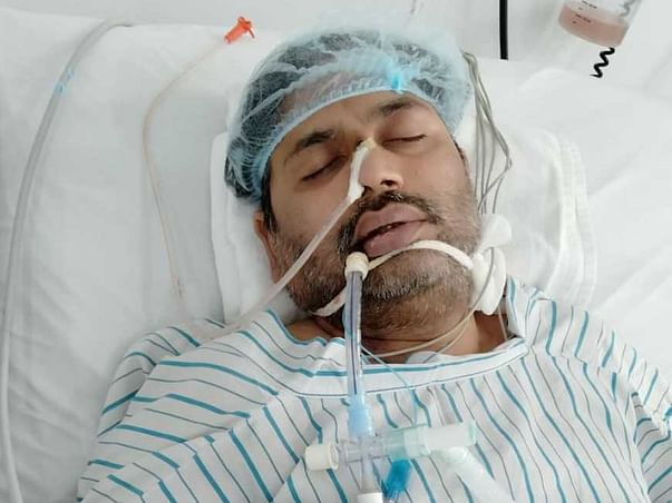 Help BRIJESH fight Covid & respiratory failure