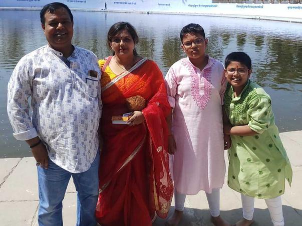 Support Akhilesh Kumar Srivastava's Family