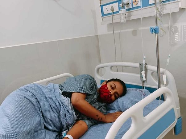 Suffering With Yellow Jaundice And Liver Infection