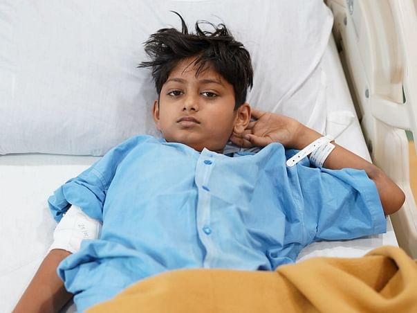 7 years old Dayitva Lilhare needs your help fight Acute Lymphoblastic Leukemia