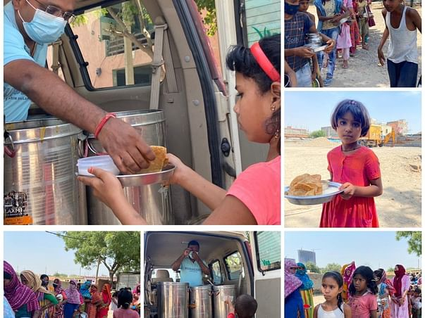Feed the hungry, Support us in making Our nation hunger free
