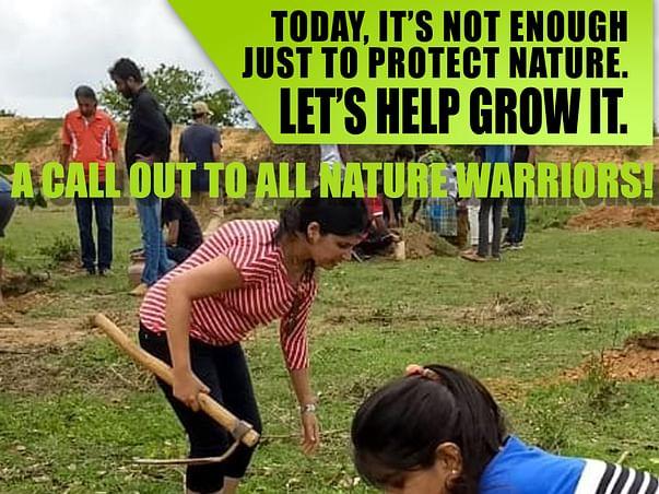 PlantALife - Sapling Plantation Near Nelamangala, Bangalore