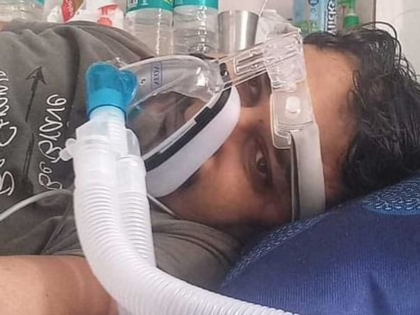 Help Tapan In His Recover From Covid Pneumonia & Respiratory Failure.