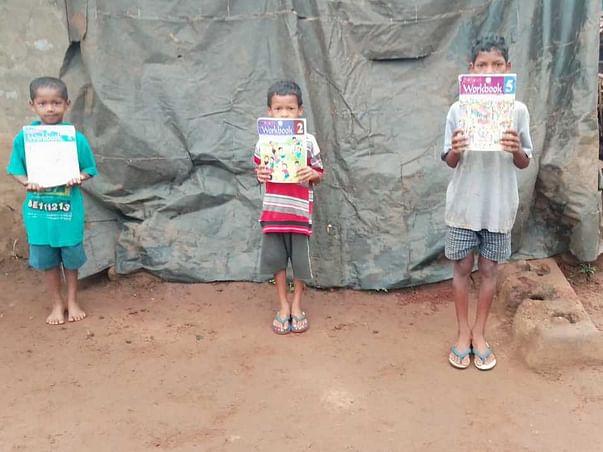 Support Bhaskar To Build A Library In Devarapalli