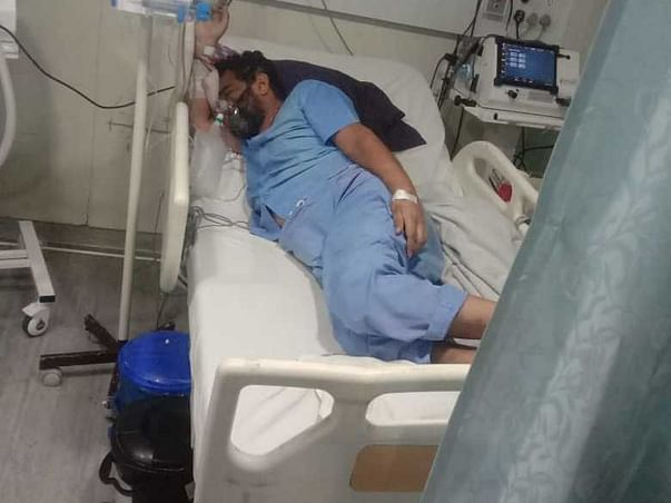 Support Yogendra lodwal Lungs Infection & Covid