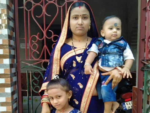 35 years old Santosh's family need your help