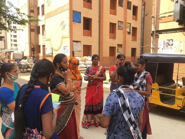 Help Turning Point - support slum women in Covid-19