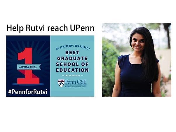 Help Rutvi Reach The University Of Pennsylvania