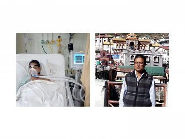 Help My Father Fight Covid RTPCR Positive & BIPAP With High-f Oxygen