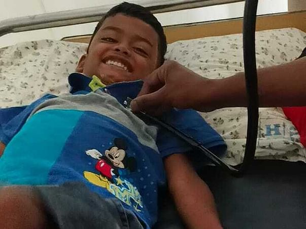 Support Muhammad Rihan Recover From Blood Cancer