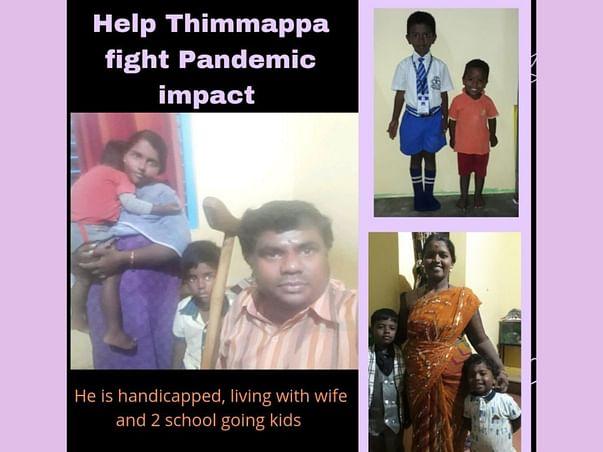 Help Thimmappa fight Pandemic impact