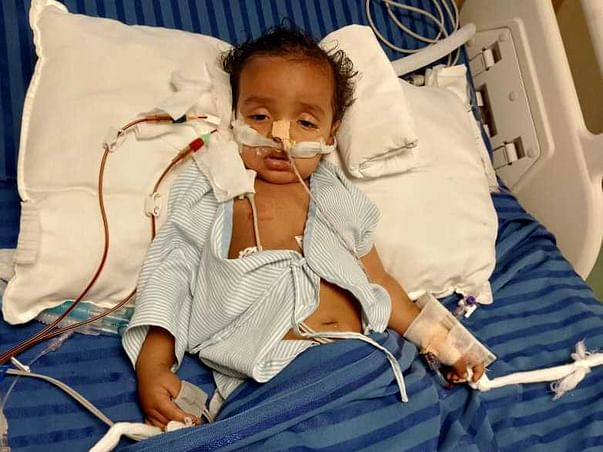 8 months old Kartik Yadav needs your help fight Post covid complications