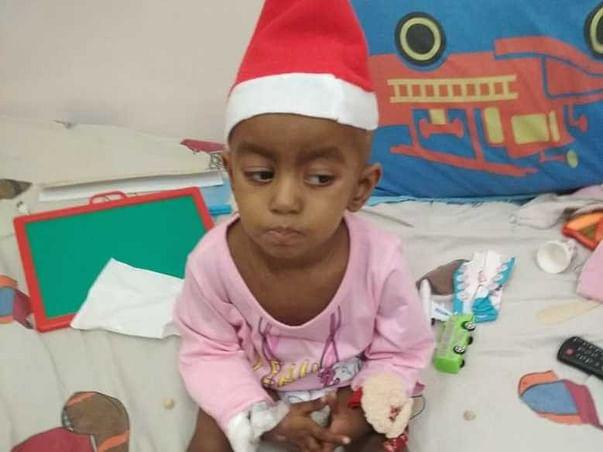 3 Years Old Diya Gala Needs Your Help Fight Neuroblastoma