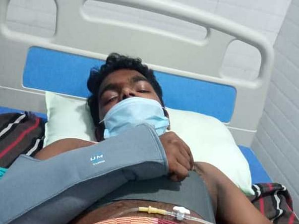 Support Shyam 21 Yrs Recover From Accidental Injury (Broken Ribs)