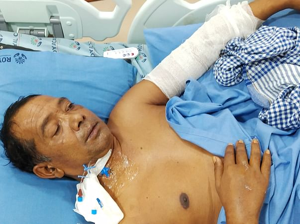 Post Covid , Muralikrishnan Fight To Recover From Black Fungus