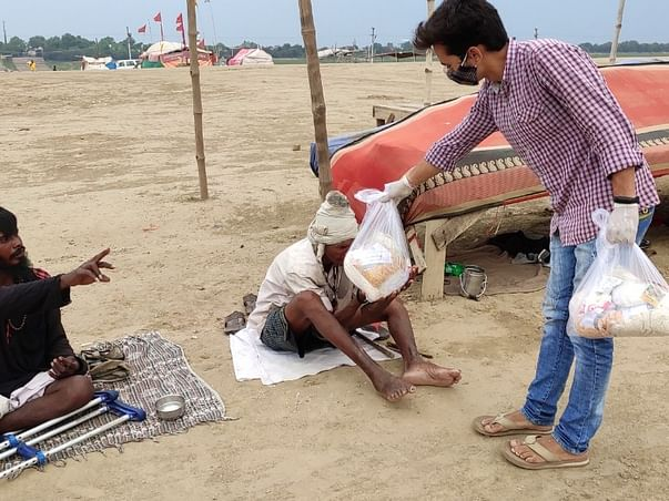 Fundraising Campaign For Free Ration For Needy People