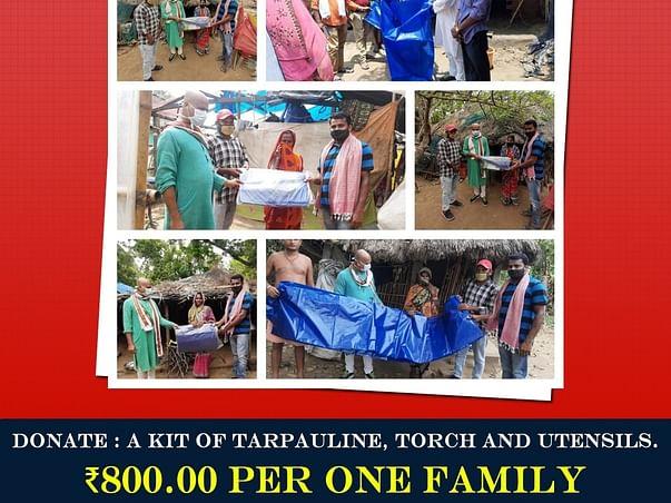 Help Poor and Needy Homeless People during YAAS Cyclone In Odisha